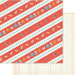 Ruby Rock It Designs - Bella - Paper Boy Collection - 12 x 12 Double Sided Paper - Galaxy