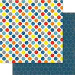 Ruby Rock It Designs - Bella - Paper Boy Collection - 12 x 12 Double Sided Paper - Spot