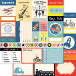 Ruby Rock It Designs - Bella - Paper Boy Collection - 12 x 12 Double Sided Paper - Tokens