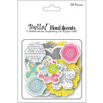 Ruby Rock It Designs - Bella - Paper Doll Collection - Chipboard Pieces - Accents