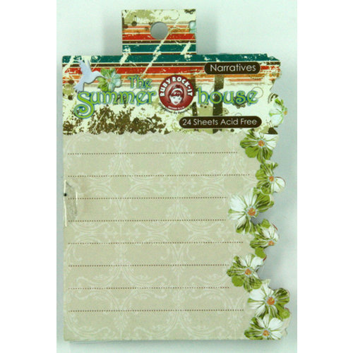 Ruby Rock It Designs - The Summerhouse Collection - Narratives Journaling Pad