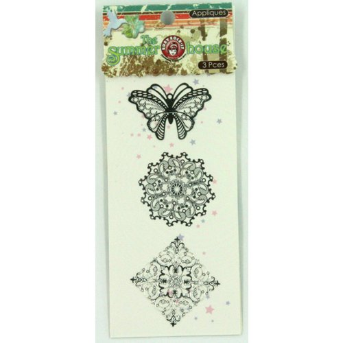 Ruby Rock It Designs - The Summerhouse Collection - Metal Appliques, CLEARANCE