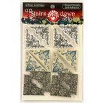 Ruby Rock It Designs - Upstairs Downstairs Collection - Self Adhesive Photo Corners, CLEARANCE