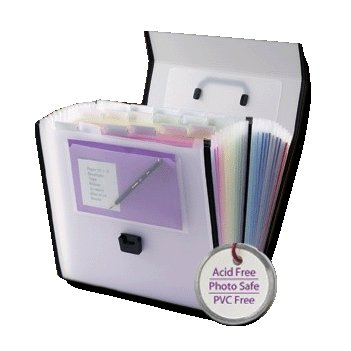 Retrospect by Smead - 26 Pocket Paper Organizer