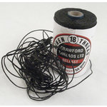 Royalwood Ltd. - Crawford Threads - Ply Waxed Linen Thread For Bookbinding - Black