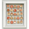 Silhouette America - Wood Frame - Advent Calendar Kit - White