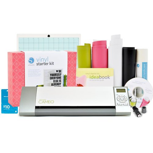 Silhouette America - Cameo and Vinyl Starter Kit Bundle