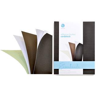 Silhouette America - 8.5 x 11 Self Adhesive Cardstock Pack - Essentials
