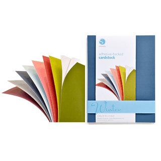 Silhouette America - 8.5 x 11 Self Adhesive Cardstock Pack - Winter
