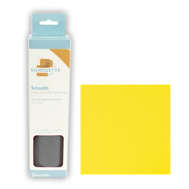 Silhouette America - Smooth Heat Transfer Material - Lemon Yellow
