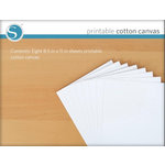 Silhouette America - 8.5 x 11 Printable Cotton Canvas Sheets