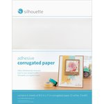 Silhouette America - 8.5 x 11 Self Adhesive Corrugated Paper Pack