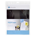 Silhouette America - 8.5 x 11 Adhesive Magnet Paper Pack