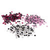 Silhouette America - Rhinestones - Assorted Pack - Clear, Rose and Pink