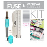"Scrapbook.com - We R Memory Keepers - Photo Sleeve Fuse - Custom 2"" x 2"" Waterfall Kit"