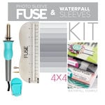 "Scrapbook.com - We R Memory Keepers - Photo Sleeve Fuse - Custom 4"" x 4"" Waterfall Kit"