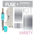 Scrapbook.com - We R Memory Keepers - Photo Sleeve Fuse - Custom Waterfall Variety Kit