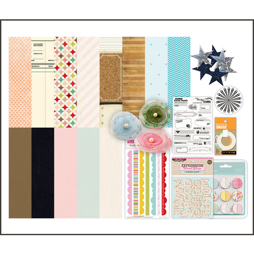 Scrapbook.com Kit Club - Noteworthy
