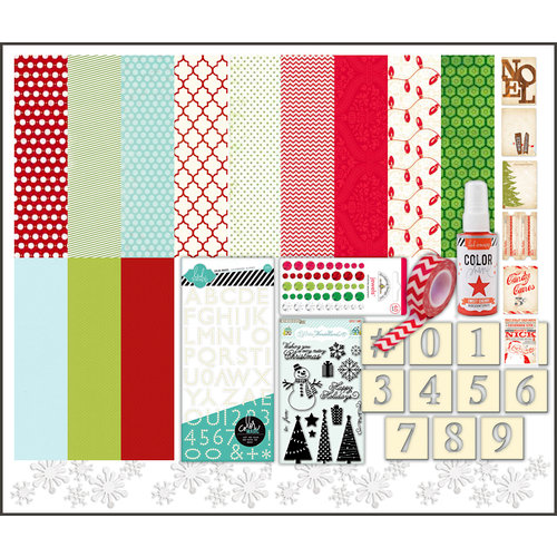 Scrapbook.com Kit Club - O' Christmas Tree