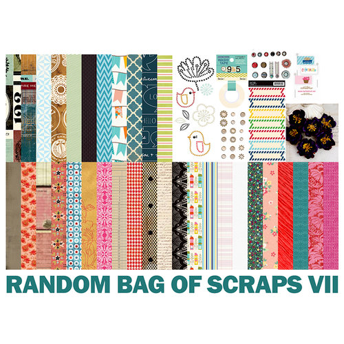 Scrapbook.com - Random Bag of Scrap 7