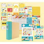 Simple Stories - SNAP Collection - Album Kit - Summer (Scrapbook.com Exclusive)