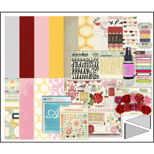 Scrapbook.com Kit Club - Strawberry Fields