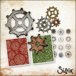Sizzix - Tim Holtz - Die Cutting and Embossing Kit - Gadgets and Gears