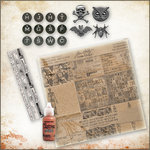 Ranger Ink - Tim Holtz - 12 x 12 Halloween Kit - Hobgoblin