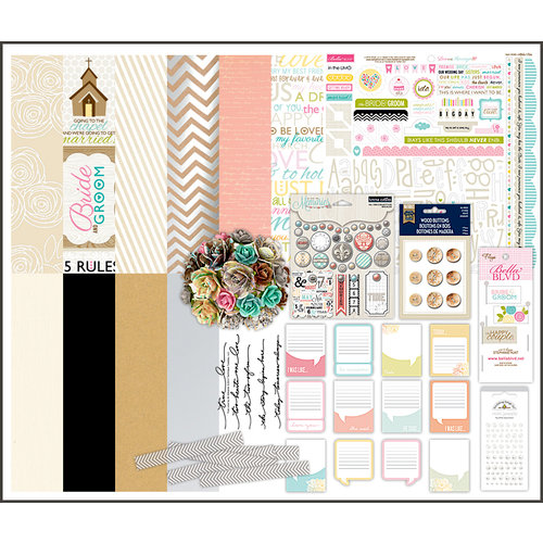 Scrapbook.com Kit Club - Wedding Chapel