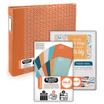Scrapbook.com - Albums Made Easy - Tangerine Kit