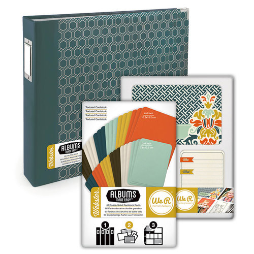Scrapbook.com - Albums Made Easy - Webster Kit