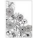 Gina Marie - Embossing Folder - 4 x 6 - Wildflowers