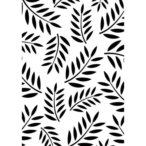 Gina Marie - Embossing Folder - 4 x 6 - Fern Leaf