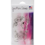 Gina Marie - Clear Acrylic Stamps - Flower