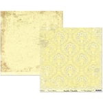 Scribble Scrabble - Naomi Collection - 12 x 12 Double Sided Paper - Antique Wallpaper