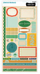 Studio Calico - Documentary Collection - Cardstock Stickers - Labels
