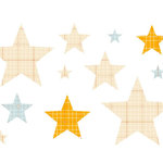 Studio Calico - Elementary Collection - Rub Ons - Stars - Ledger