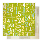 Studio Calico - Elementary Collection - 12 x 12 Double Sided Paper - Show Your Work, CLEARANCE
