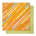 Studio Calico - Elementary Collection - 12 x 12 Double Sided Paper - Harper's Rule
