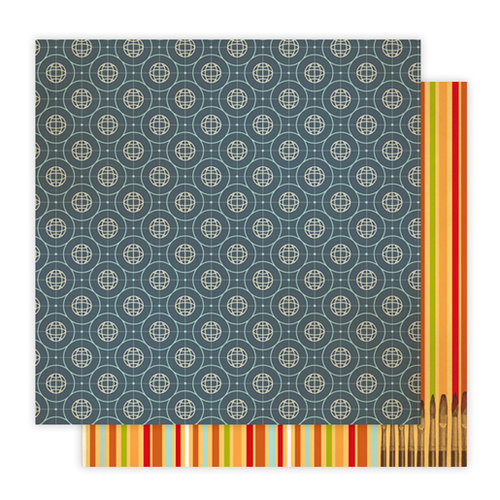 Studio Calico - Elementary Collection - 12 x 12 Double Sided Paper - Atmosphere