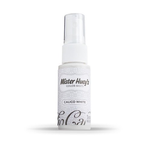 Studio Calico - Mister Huey's Color Mist - 1 Ounce Bottle - Opaque White