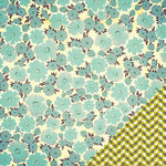 American Crafts - Studio Calico - Darling Dear Collection - 12 x 12 Double Sided Paper - Crawford