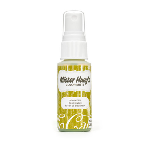 American Crafts - Studio Calico - Mister Huey's Color Mist - Bookworm - Green