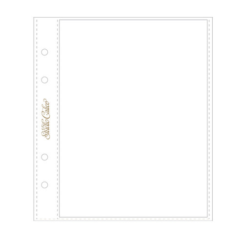 Studio Calico - Page Protectors - 6 x 8 - 6 Pack