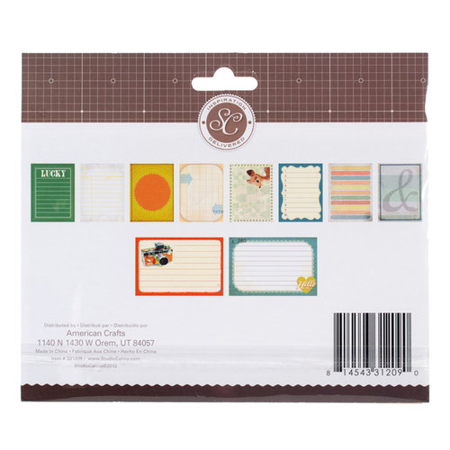 American Crafts - Studio Calico - Darling Dear Collection - Journaling Cards