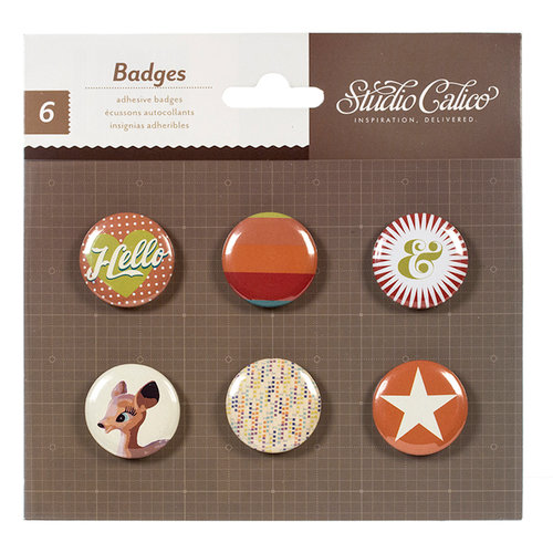 American Crafts - Studio Calico - Darling Dear Collection - Flair - Stickers