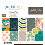 American Crafts - Studio Calico - Darling Dear Collection - 6 x 6 Paper Pad