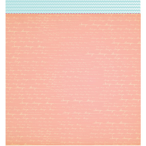American Crafts - Studio Calico - Sundrifter Collection - 12 x 12 Double Sided Paper - In Love