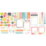 American Crafts - Studio Calico - Sundrifter Collection - Die Cut Cardstock Shapes