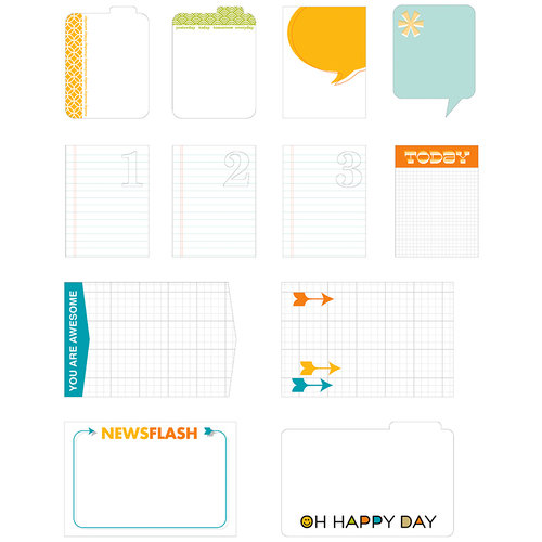 Studio Calico - Here and There Collection - Journal Cards